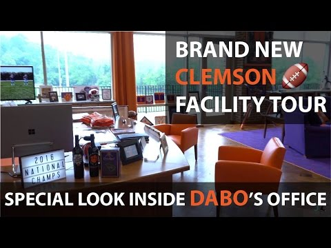 New Clemson Football Facility: Exclusive Player's Tour
