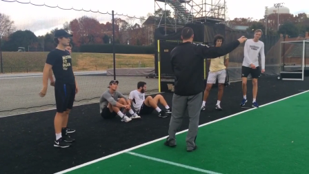 Wake Forest Men's Tennis Conditioning (2 of 4 - 11/29/16)