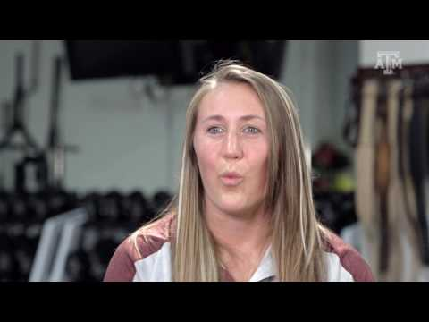 New Texas A&M Women's Basketball Strength Coach Kayln Sticher