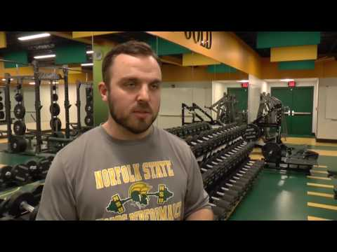 Norfolk State Unveils New Weight Room