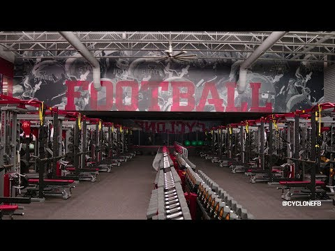 Experience Iowa State Cyclones Football Weight Room