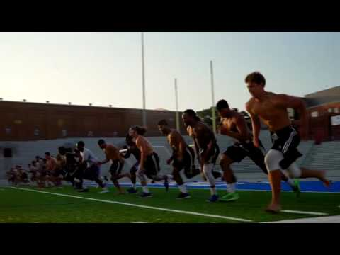 Drake Football Summer Workouts
