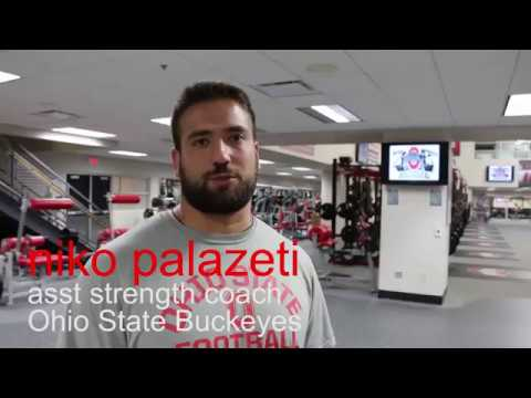 ASAP @ Ohio State Football: Niko Palazeti on Kettlebell Swing Technique