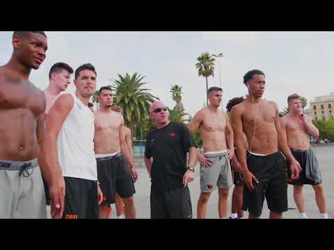 Oregon State Men's Basketball In Spain - Early Morning Workout