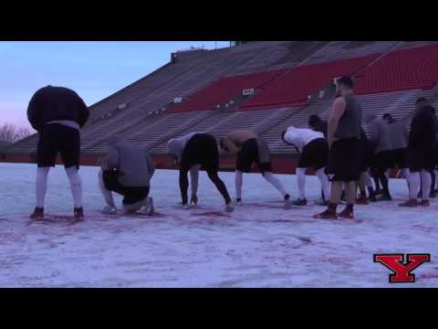 Behind the Scenes | Youngstown State Football Program / Winter Workouts