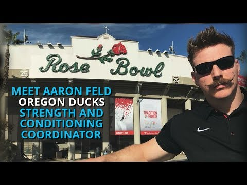 Meet Aaron Feld: Oregon Ducks Strength and Conditioning Coordinator