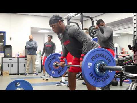 Howard University Off Season: Strength and Conditioning.