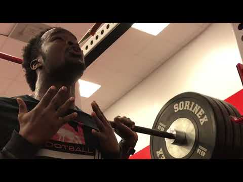 Newberry Football Speed, Strength, and Conditioning Winter 2018 Part 3