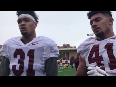 USC Football Players Hunter Echols and Juliano Falaniko Talk Strength, Conditioning & Nutrition