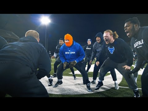 UB Football: Winter Conditioning 2018 Day One