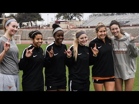 Texas Volleyball and Soccer Joint Workout