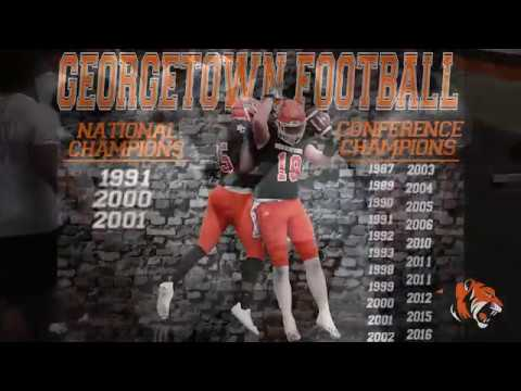 2018 Georgetown Football Weight LIfting Phase 1