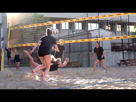 All Access: Texas Women's Spring Volleyball Sand Workout