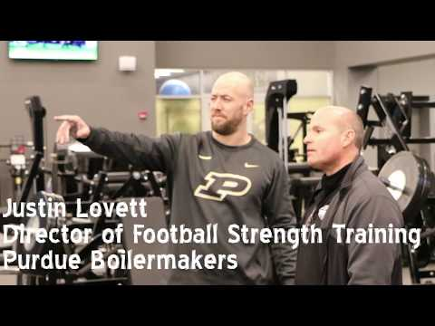 Purdue Football Strength Facility Walk-Thru