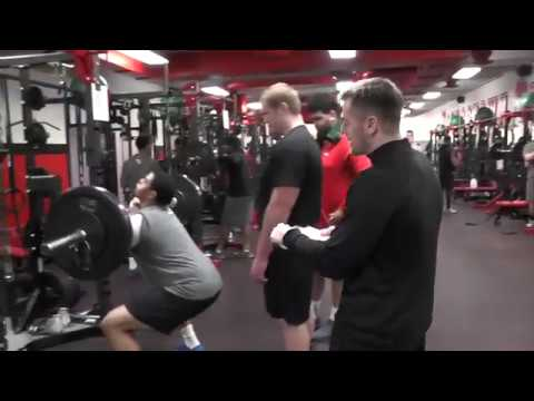 YSU Football Workout Montage Led By Strength & Conditioning Coordinator Mark Brandenstein