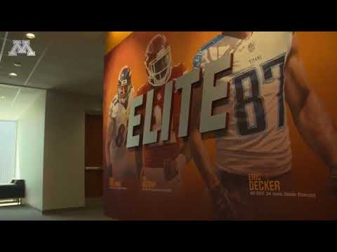 Gopher Football: Larson Football Performance Center Virtual Tour