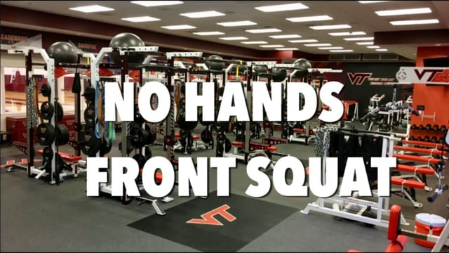 VT WBB No Hands Front Squat Technique