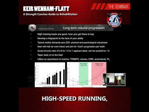 Flashback Friday, 2018 Seminar, Keir Wenham-Flatt: A Strength Coaches Guide to Rehabilitation