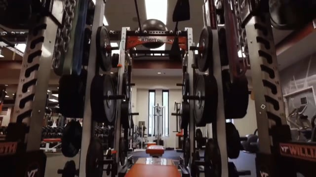 VT Basketball Strength & Conditioning Facility