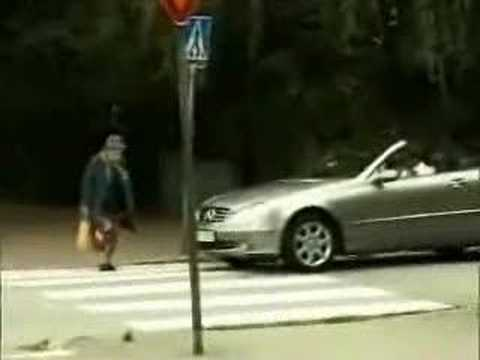 Car Accident (old lady) Funny