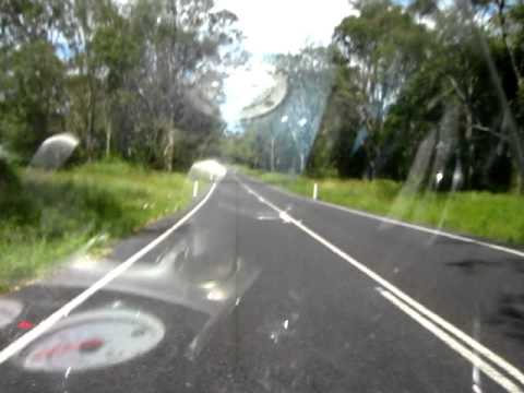 Ride along Neurum Road Woodford Qld