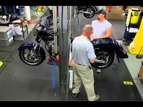 Victory Motorcycles: Cross Country Assembly Time-Lapse