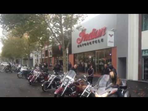 Melbourne Victory-Indian Shop Ride 25 May 2014