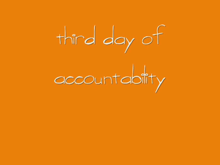 third day of accountability