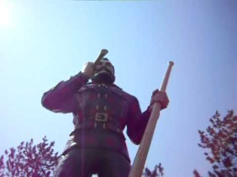 Paul Bunyan The Largest Woodsmen In The World