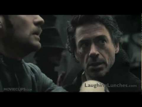Sherlock Holmes Suggests LaughingLunches.com