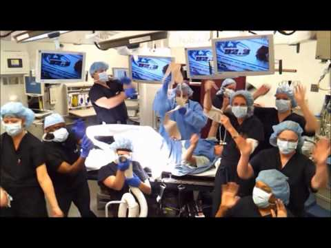 Operating room harlem shake nurses