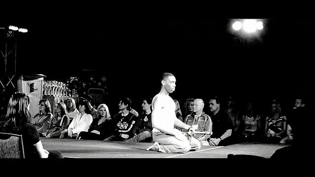 Executive Budo (Martial Arts) at Fitness STAR Model Search w/ BTS | 2011