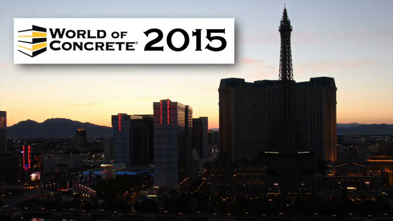 Vertical Decorative Concrete at the World of Concrete 2015