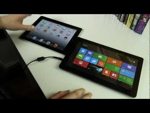 Windows 8 vs. iPad feature-by-feature