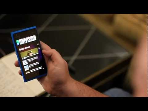 Nokia Lumia 900 - first hands-on video