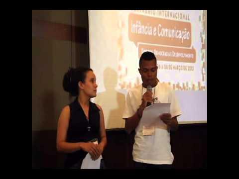 Vídeo - Seminário Infância e Comunicação