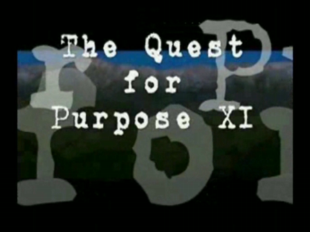 Quest for Purpose XI ~ Time