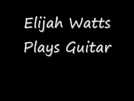 """Elijah Watts """"Future Star"""""""