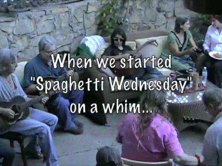 Spaghetti Night!