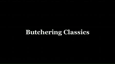 Butchering Classics: A British Tar
