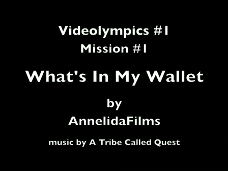 Videolympics 01.01 - What's In My Wallet