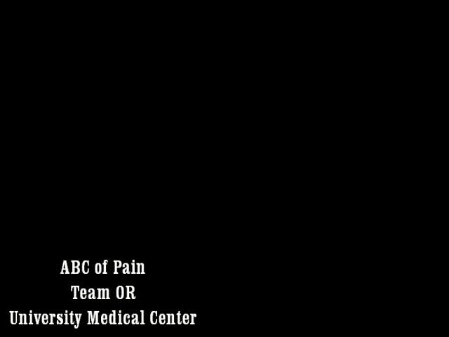 ABCs of Pain Scores