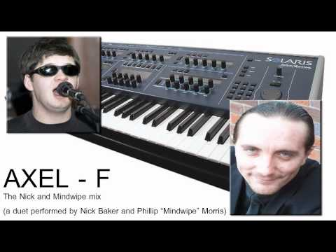 "Nick Baker And Mindwipe (Synth Duet ""AXEL f"")"
