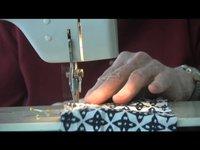 Ryoanji Quilt Day 6  Stitching