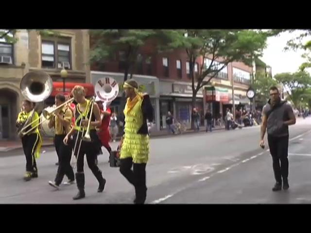 The 2011 Honk Parade