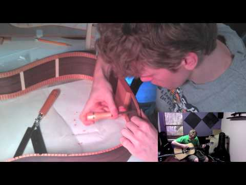 Antoine Dufour - Catching the light cover and Guitar build