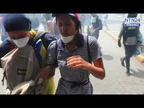 VENEZUELA-REPRESIÓN CRIMINAL-NTN24