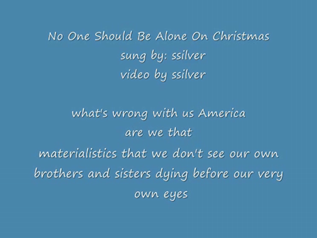 No One Should Be Alone On Christmas