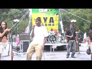 J-Remedy & Jia Conna Performing at Reggae Fest in Union Square Park, NYC