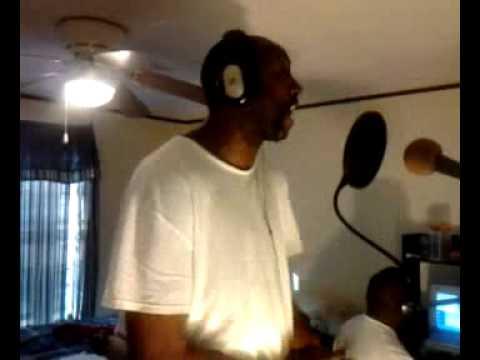 Deadman Rashaun in the studio